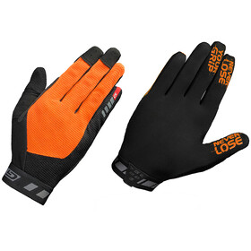 GripGrab Vertical Long Cycling Gloves Fluo Orange